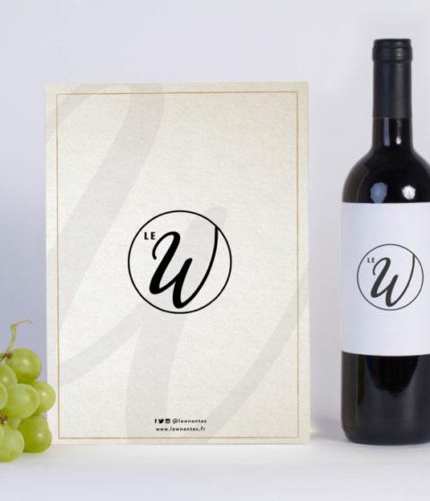 Wine Menu Mock